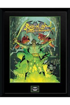 DC Comics Ras Al Ghul Framed Collector Print