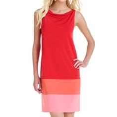 • summer colorblock dress • In great condition, very vibrant dress. Bright colors add a pop to any summer wardrobe. True to size. The Limited Dresses Midi