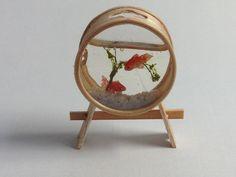 曲げわっぱの金魚鉢