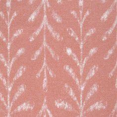 Kaftor Leaf Melon. Available printed on linen, cotton, cotton linen blends. © Ellen Eden