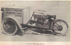 Harley-Davidson Motorcycle Truck 1914