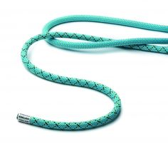Really interesting - a climbing rope with two different diameters! (Anyone else LOVE these colors???)