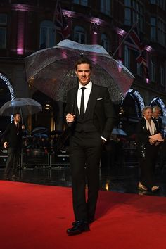Benedict Cumberbatch @ BFI London Film Festival's premiere of 'The Imitation Game'