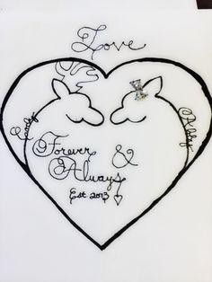 Cute boyfriend gift. Browning heart