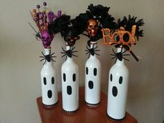 Ghostly Wine Bottles