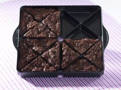 Brownie Wedge Pan $23.99
