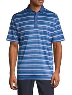 15a9c16648145 CALLAWAY Striped Short-Sleeve Polo.  callaway  cloth