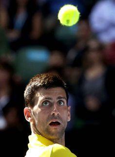 Le numéro 1 Novak Djokovic est toujours au top.