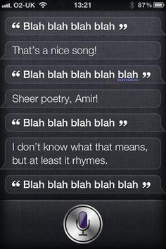 Funny Siri Responses