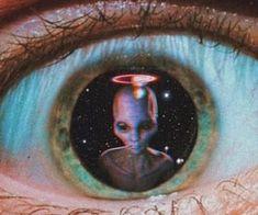 Alien Aesthetic, Aesthetic Indie, Aesthetic Drawing, Trippy Alien, Alien Art, Aquarius Aesthetic, Aquarius Art, Alien Drawings, Rick Y