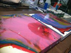 Painting Tutorial – Liquitex Pouring Medium | Kelly Thiel Studio