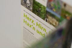natur. bewusst. erleben. so lautet der grundsatz der österreichischen outdoor-akademie und der folder aus der sterngasse* bringt das visuell auf den punkt. Event Ticket, Outdoor, Full Stop, Nature, Outdoors, Outdoor Games, The Great Outdoors