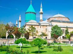 Mausoleum of Mevlana, Konya Destinations, Hotel Website, Great Vacations, Cheap Hotels, Architect Design, Cheap Travel, Holiday Travel, Places To See, The Good Place