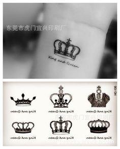 Produtos do sexo Tatoo temporária para Weman à prova d ' água adesivos coroa adesivos tatuagem HC 130 em Tatuagens Temporárias de Health & Beauty no AliExpress.com | Alibaba Group
