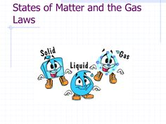 States of Matter Clip Art | States of Matter and The Gas Laws More