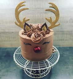 Image result for rudolph cake
