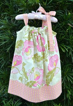 Floral+Pillowcase+Dress++Easter+Dress++by+LilBambinaBoutique,+$19.99