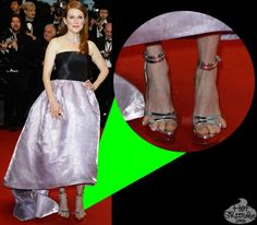 Julianne Moor's snaggle toes will haunt your nightmares. #Cannes