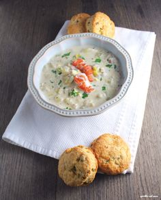 give this rich and creamy seafood chowder a try!