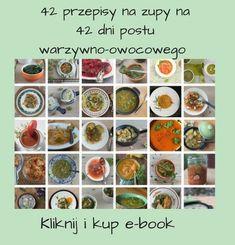 Dzień 1: – 10 dużych ogórków gruntowych, – 1 żółta papryka, sałata, 1 duży pomidor, – 750 ml koktajlu (jabłko, woda), – 3 maleńkie różyczki kalafiora z wody, – 2 duże miski zupy – botwinki z mnóstwem warzyw, – 3 ogórki z cebulą, – mus jabłkowy. Pod koniec dnia byłam tak pełna że ruszać się...