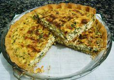 Torta rápida de espinafre light ~ Cozinha Light - Receitas Light para alimentação saudável