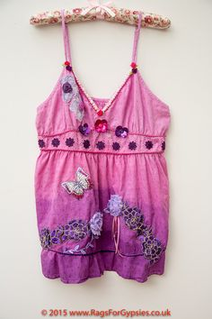 Lavendula Rose Gypsy Camisole style Top Festival by RagsForGypsies