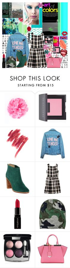 """I Just Keep Changing These Colors, Colors, Colors, Colors"" by luvmrb61899 ❤ liked on Polyvore featuring ban.do, Laura Mercier, Kori, Vanity Fair, High Heels Suicide, Ted Baker, Marc by Marc Jacobs, Smashbox, Chanel and Fendi"