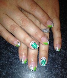 St. Patricks day nail art