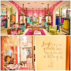 Lilly Pulitzer Southpoint. Happy room inspiration