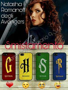 Adesso tocca a #NatashaRomanoff degli #Avengers ⚡ Tocca a voi #CappelloParlante ⚡  ⚡Hermione⚡
