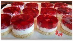 Erdbeertörtchen - QimiQ Cheesecake, Food And Drink, Sweets, Baking, Desserts, Muffins, Fitness, Party, Best Apple Pie