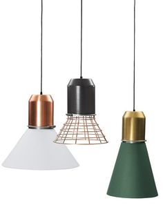 Pendant #lamp BELL LIGHT by @Oliver Dudley Holy  | #design Sebastian Herkner