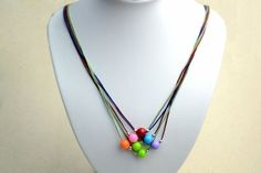 Diy+Necklace+Ideas++How+To+Make+A+String+Bead+Necklace++#howto+#tutorial