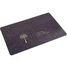 Quality Absorbent Nonslip Door Mat Entry Mats Doormat Floor Carpet Rug, Grey