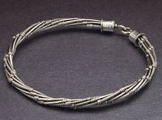 Twisted Wire Bangle Video Jewelry Tutorial By wiredelements