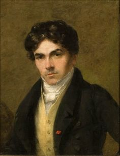 """Portrait of Eugène Delacroix"", c. 1825 by Thomas Fielding, Musee Eugene…"