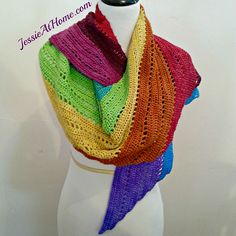 130+ FREE Crochet Patterns by Jessie Rayot: Free Crochet Shawl Patterns