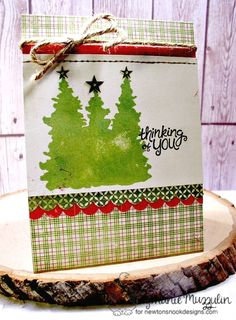 Handmade Creations by Stephanie Holiday Cards, Christmas Cards, Gift Wrapping, Homemade, Nook, Stamping, Boards, Winter, Design