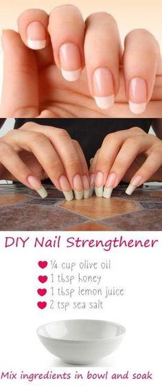 Diy Long Nails, Grow Long Nails, How To Grow Nails, Grow Nails Faster, Diy Nails Care, Nail Care Tips, Diy Nails At Home, Best Acrylic Nails, Acrylic Nail Designs