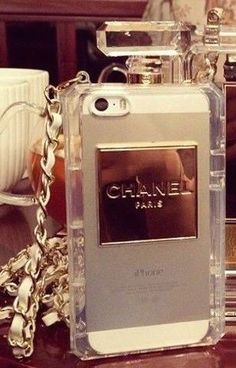 Perfume Chanel iPhone case... The girly in me has to order this