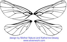 Dragon Fly. Make these on two separate brackets, so I could wear both or just one set.