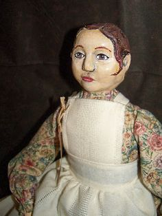 Adelle made of cloth and clay.