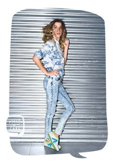 Camisa cloudy - Jean strong snow - Zapatillas fast