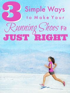 Running shoes too tight? Too loose? We're sharing simple tips for the perfect fit.