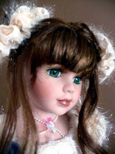 "16"" Porcelain Ballerina Doll  WINTER Ballerina Doll, Toddler Dolls, Madame Alexander, Hello Dolly, Vintage Dolls, Beautiful Dolls, Barbie, Porcelain, Disney Princess"