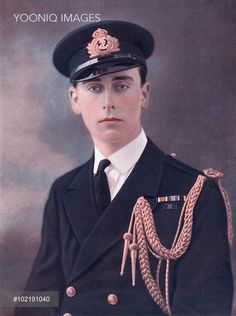 Lord Louis Mountbatten, 1st Earl Mountbatten of Burma (1900 - 1979) pictured in naval uniform (he later became First Sea Lord) in The Sketch at the time of his marriage to Lady Edwina Ashley in 1922.