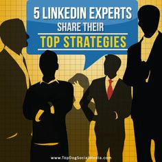5 LinkedIn Experts Share Their Top Strategies (Business marketing, social media, LinkedIn)   Subscribe to my blog at: http://lifeslearning.org/      Twitter: @ sapelskog.  Counselors, join us at: Facebook.com/LifesLearningForCounselors* Everyone, Join us at: