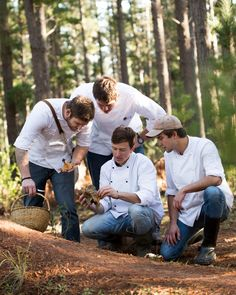 #Chefs foraging in #SouthAfrica