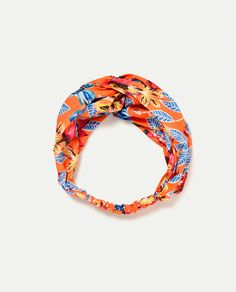 PRINTED TURBAN-STYLE HAIRBAND-View All-ACCESSORIES-WOMAN   ZARA United States