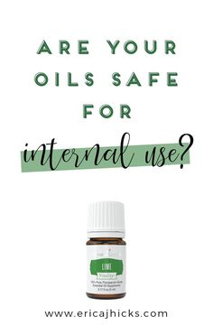 Internally - When I speak about ingesting I am ONLY talking about Young Living oils. I cannot speak to the quality of other oils, You can add oils to water (be sure to shake before each drink or add a pinch of salt to help mix the oil and water), NingXia